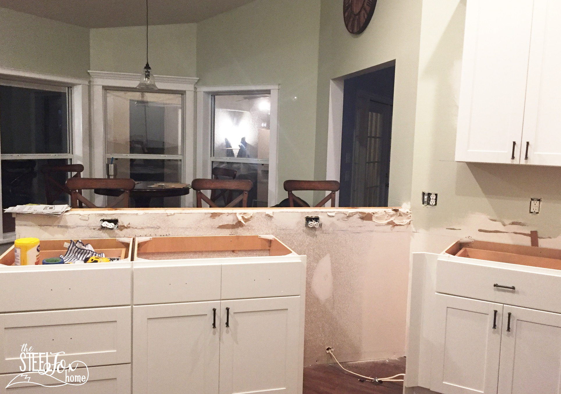 Spackle Kitchen Cabinets