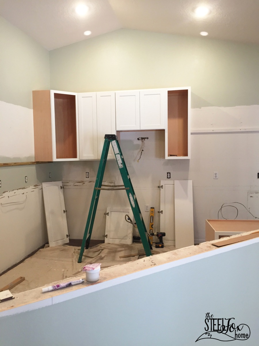 Our Long-Awaited Kitchen Cabinet Install Day!