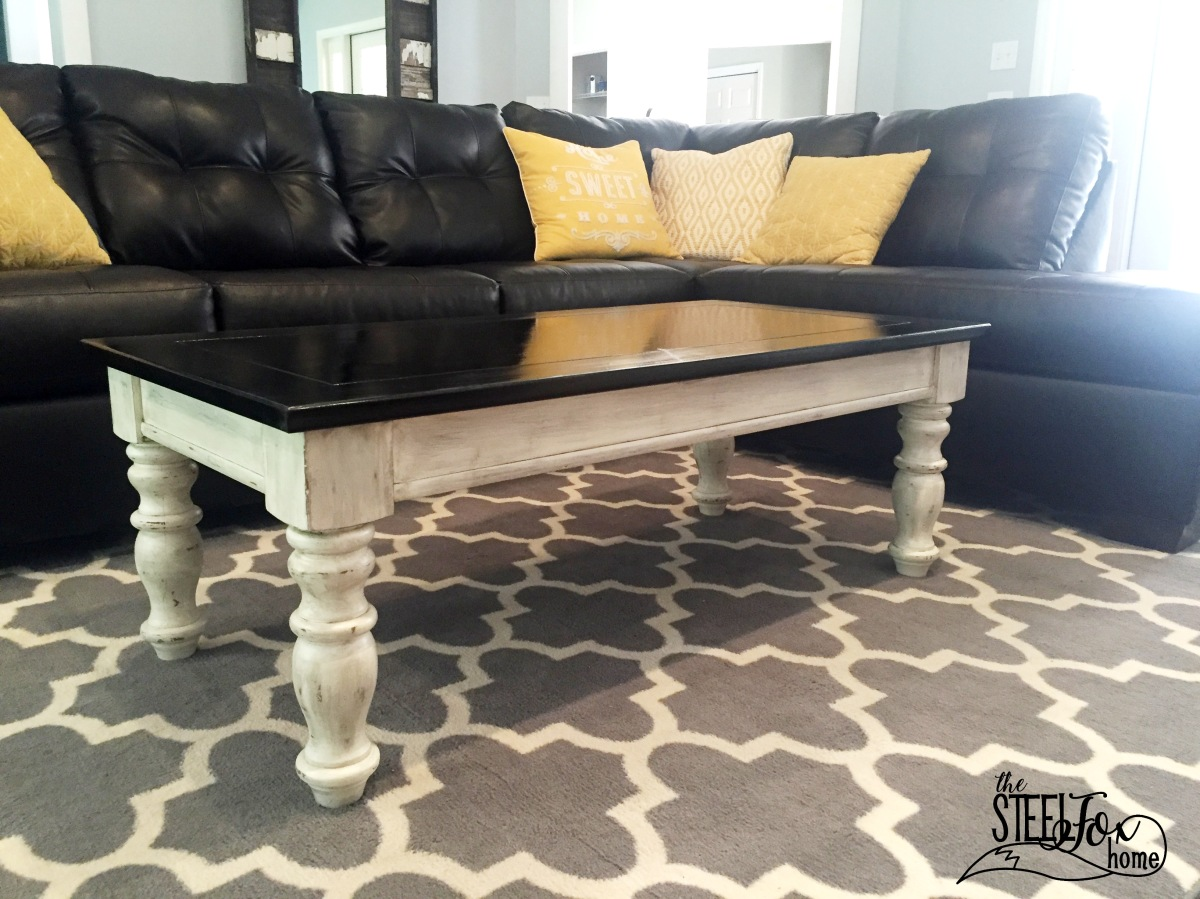 The Easiest Coffee Table Makeover Ever