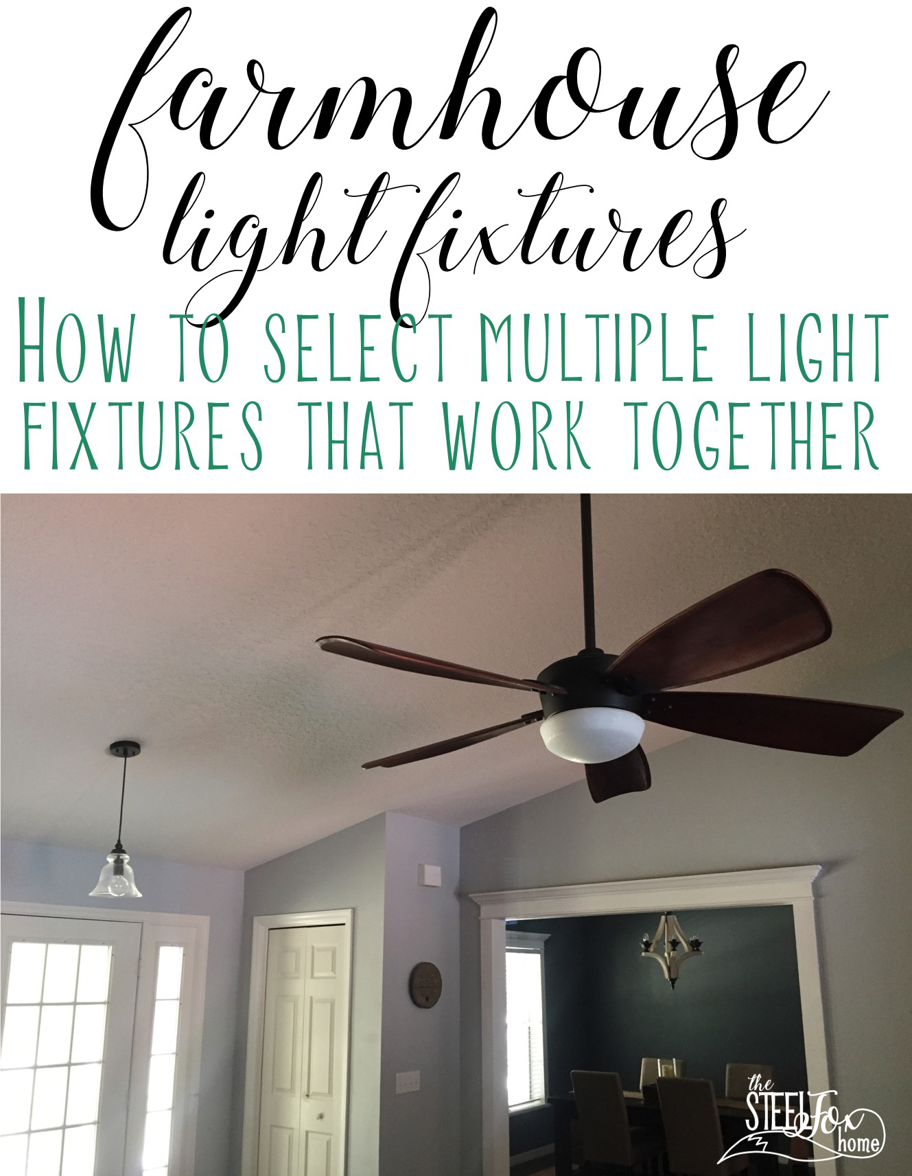 Let There Be Light Keeping light fixtures cohesive when you re