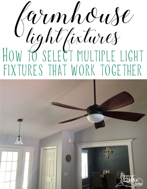 how to select farmhouse light fixtures