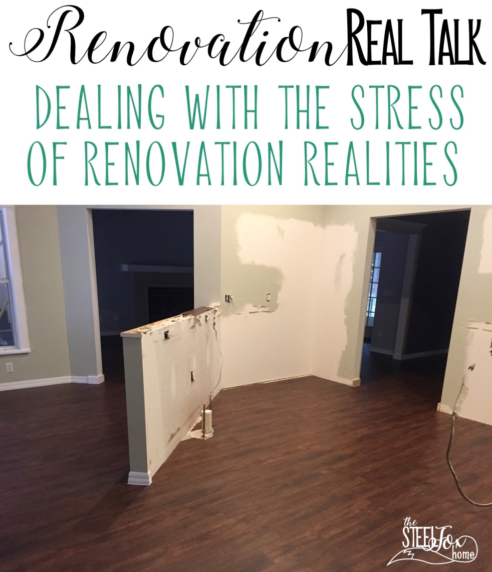 Real Talk on Renovation Updates