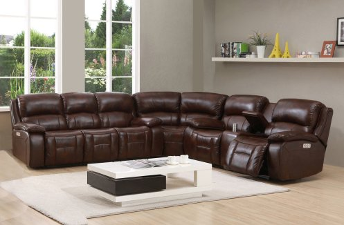 Wayfair leather sectional